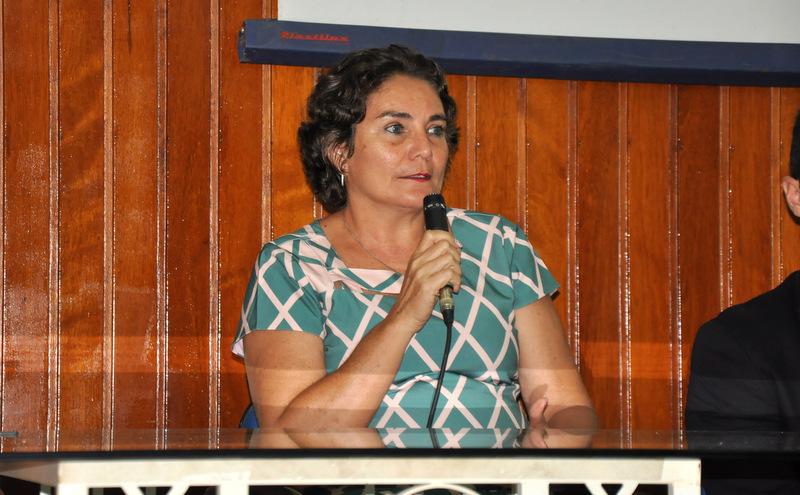 Professora Teresa dos Anjos, diretora do Instituto de Ciências Jurídicas da UFRR